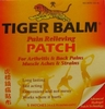 Tiger Balm � Pain Relieving Patch