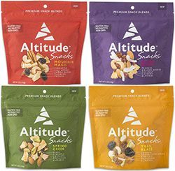 Altitude Snacks, Premium Dried Fruit and Nut Blends with Free Shipping
