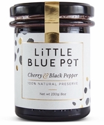 <font color=red><b>SALE!!!</b></font>Little Blue Pot Cherry & Black Pepper Preserve