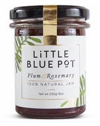 <font color=red><b>SALE!!!</b></font>Little Blue Pot Plum & Rosemary Jam