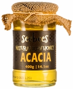 <font color=red><b>SALE!</font></b> SEEBEES Acacia Honey 400g/ 14.1oz