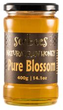 <font color=red><b>NEW!</font></b> Seebees Pure Blossom Honey 400g (14.1 oz)