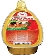 Vitalia Soya Pate w/ Paprika 105g - Case of 16 Packs