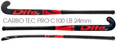 Carbo Tec Pro C100 BLUE CARBON 24mm Low Bow - <br>For Advanced Skills, Easy Lifts