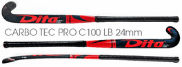 Carbo Tec Pro C100 BLUE CARBON 24mm (SOLD OUT)