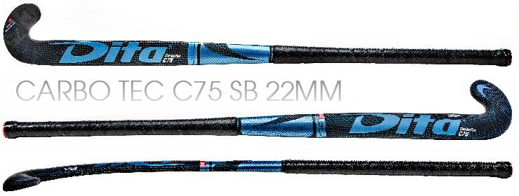 """CARBO TEC C75 """"J"""" Blue Carbon - <br>FOR CONTROL - COMING SOON"""