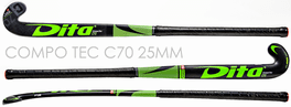 COMPO TEC C70 Green - <br>For 3D-Skills, Drag Flicks