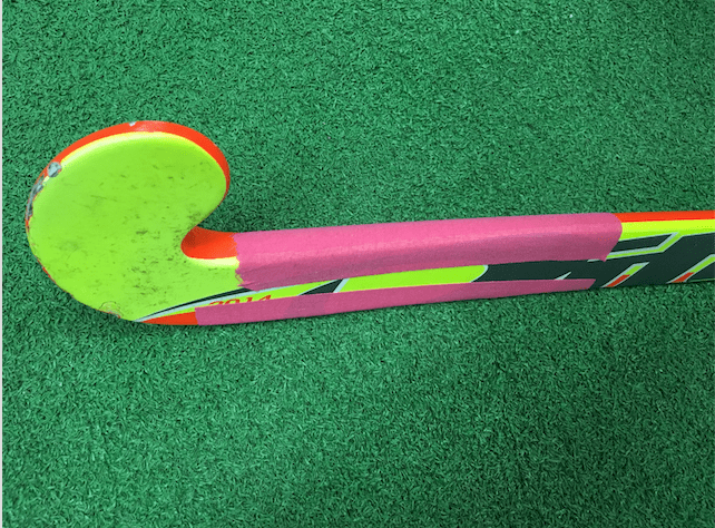 TAPE THE SHAFT OF YOUR STICK