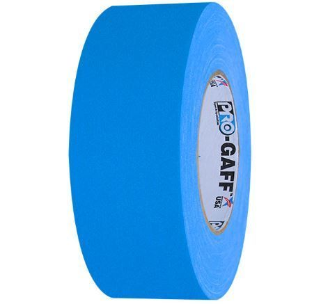 Pocket Pro Gaff Fluorescent Green Gaffers Tape 1 inch X 6  yards on 1 inch core