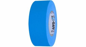 Pro Gaff Fluorescent Blue Gaffers Tape 2 inch x 50  yards