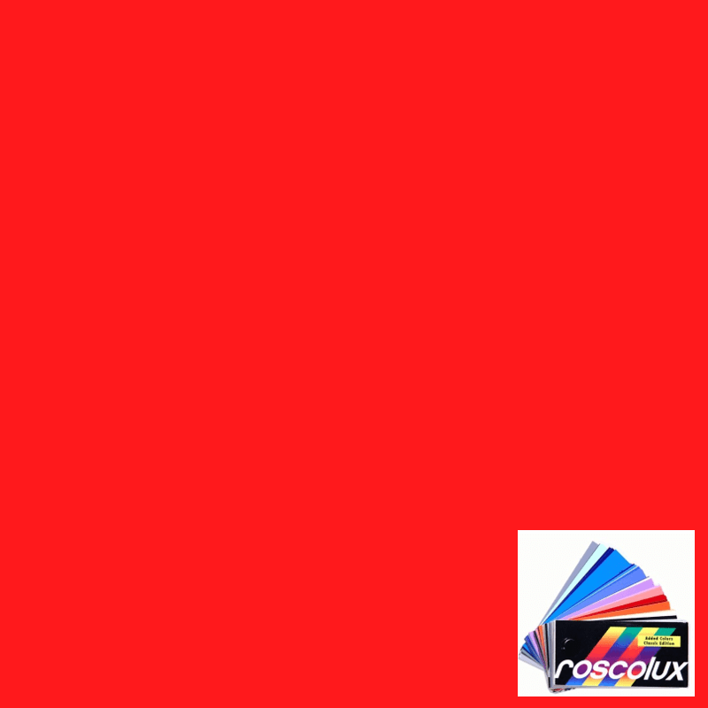 Rosco Roscolux 4690 Calcolor Red 90 Gel Filter Sheet