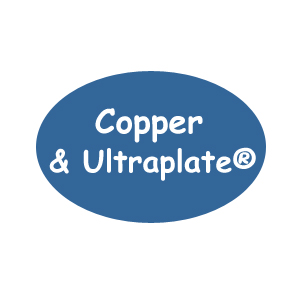 Copper and Copper Ultraplate Crimps and Crimp Covers