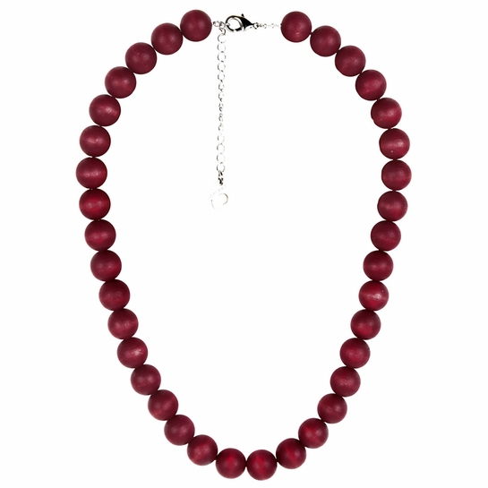 Aarikka Aito Dark Red Necklace