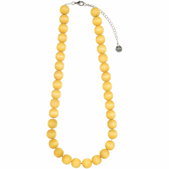 Aarikka Aito Yellow Necklace