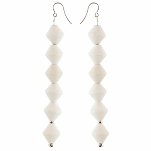 aarikka Daalia White Earrings