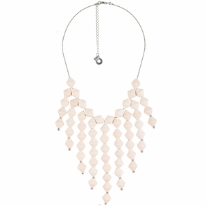 aarikka Daalia White Necklace