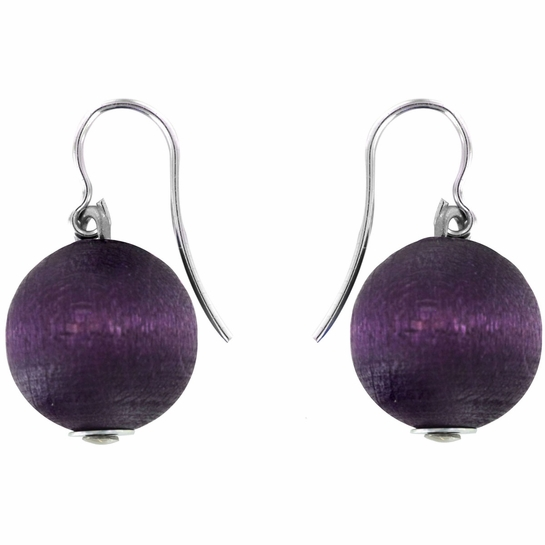 aarikka Karpalo Dark Lilac Earrings
