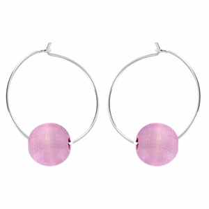 Aarikka Kehra Pink Earrings