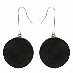 Aarikka Lahti Black Earrings