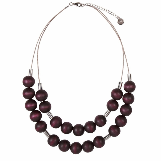 Aarikka Lauha Plum Necklace