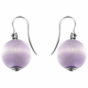 Aarikka Light Lilac Karpalo Earrings