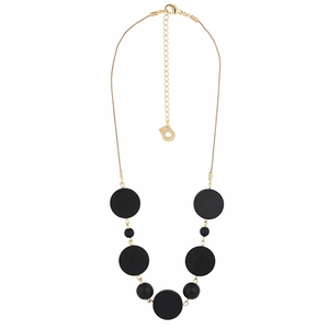 aarikka Medeia Black Necklace