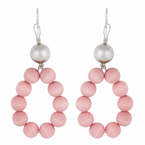aarikka Merida Geranium Pink Earrings