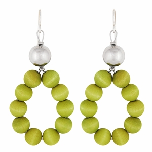 aarikka Merida Lime Green Earrings