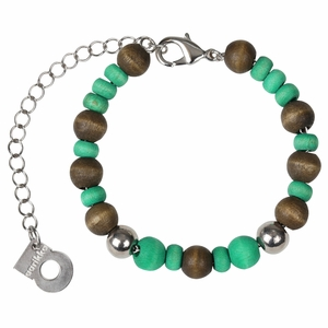 aarikka Naava Green / Brown Bracelet