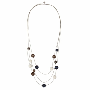 aarikka Niitty Navy Necklace