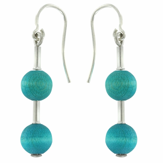Aarikka Pippuri Ocean Earrings