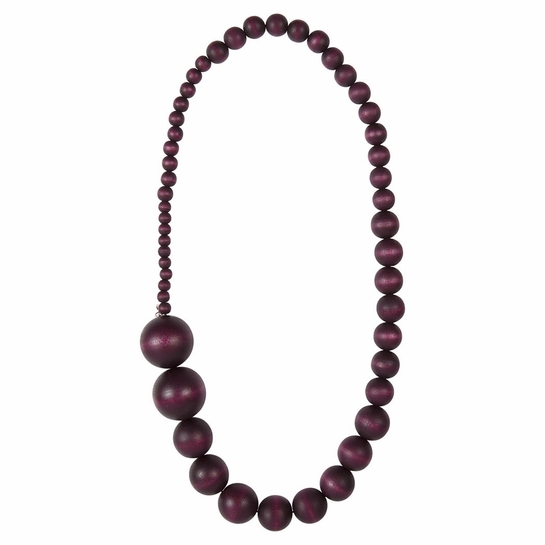 Aarikka Saaga Plum Necklace