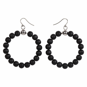 Aarikka Sade Coal Earrings