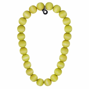 aarikka Suomi Lime Green Necklace
