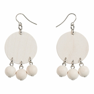 Aarikka Tanssi White Earrings