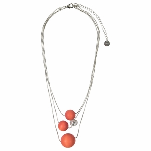 Aarikka Tunne Orange Necklace