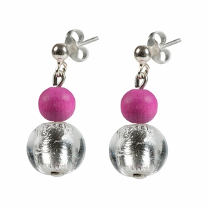 Aarikka Vilkas Raspberry Earrings
