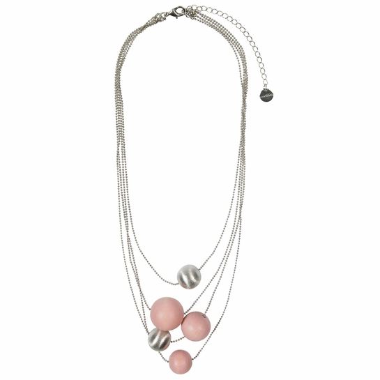 aarikka Voima Light Pink Necklace