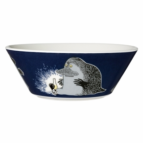 Arabia Moomin The Groke Bowl