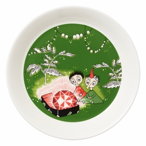 Arabia Moomin Thingumy & Bob Plate