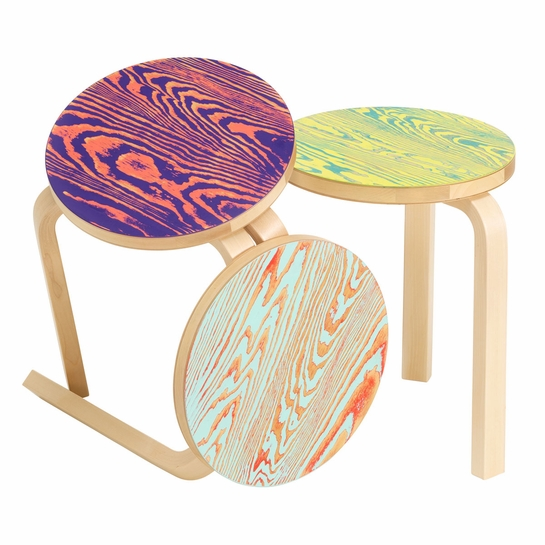 Artek ColoRing Special Edition Stool 60