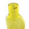 Bianco Blu Liuku Yellow Glass Bottle