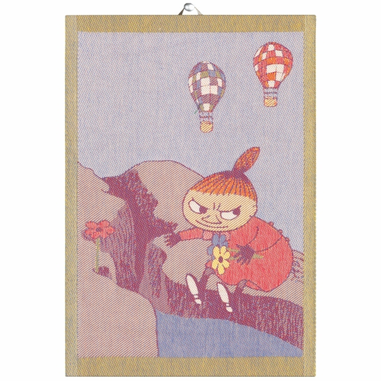 Ekelund Moomin Little My Flowers Tea Towel