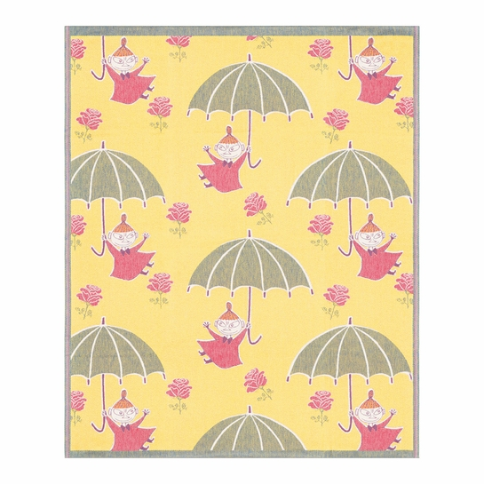 Ekelund Moomin Little My Umbrella Baby Blanket