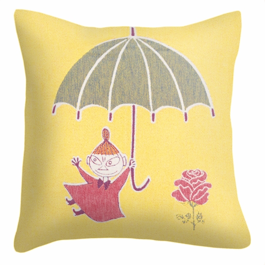 Ekelund Moomin Little My Umbrella Throw Pillow