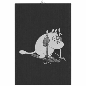 Ekelund Moomin Skiing Tea Towel