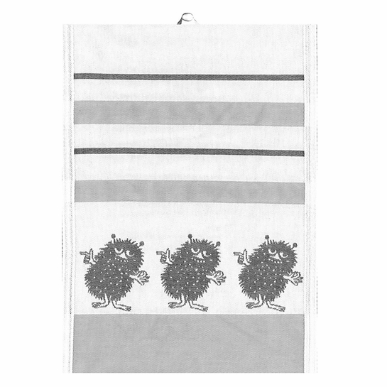 Ekelund Moomin Stinky Grey Tea Towel