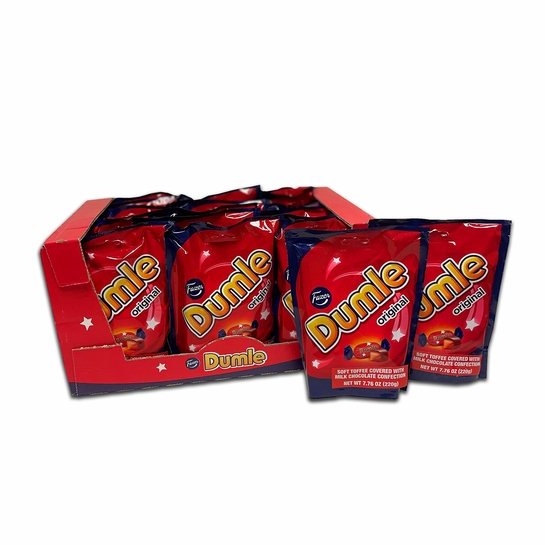 Fazer Dumle Toffee Candy Case (18 Bags)