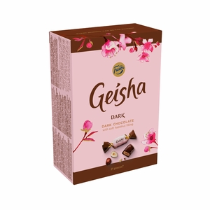 Fazer Geisha Dark Chocolate with Hazelnut Box - 5-1/4 oz