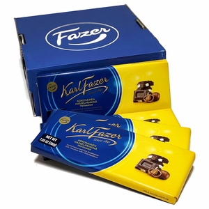 Fazer Milk Chocolate with Hazelnuts Bulk Box (19 Bars)